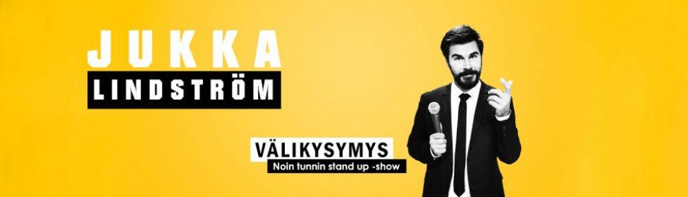 Jukka Lindström – Stand up -koomikko